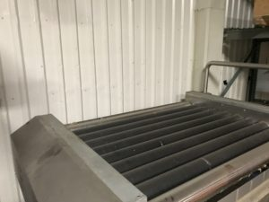 Used Wyma Flat Bed Roller Dryer